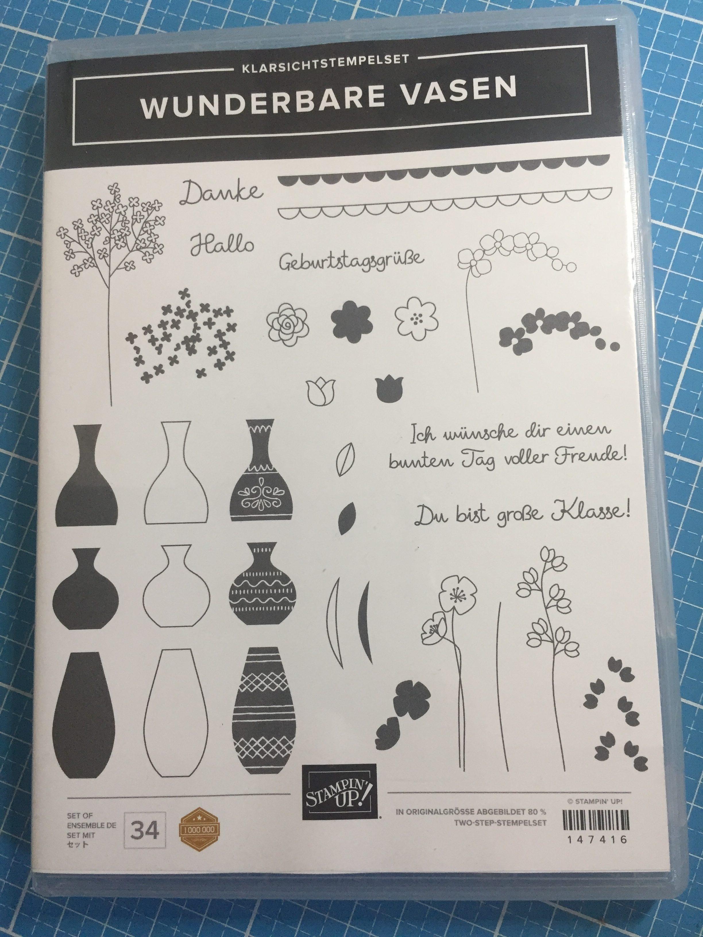 wunderbare Vasen Stampin up