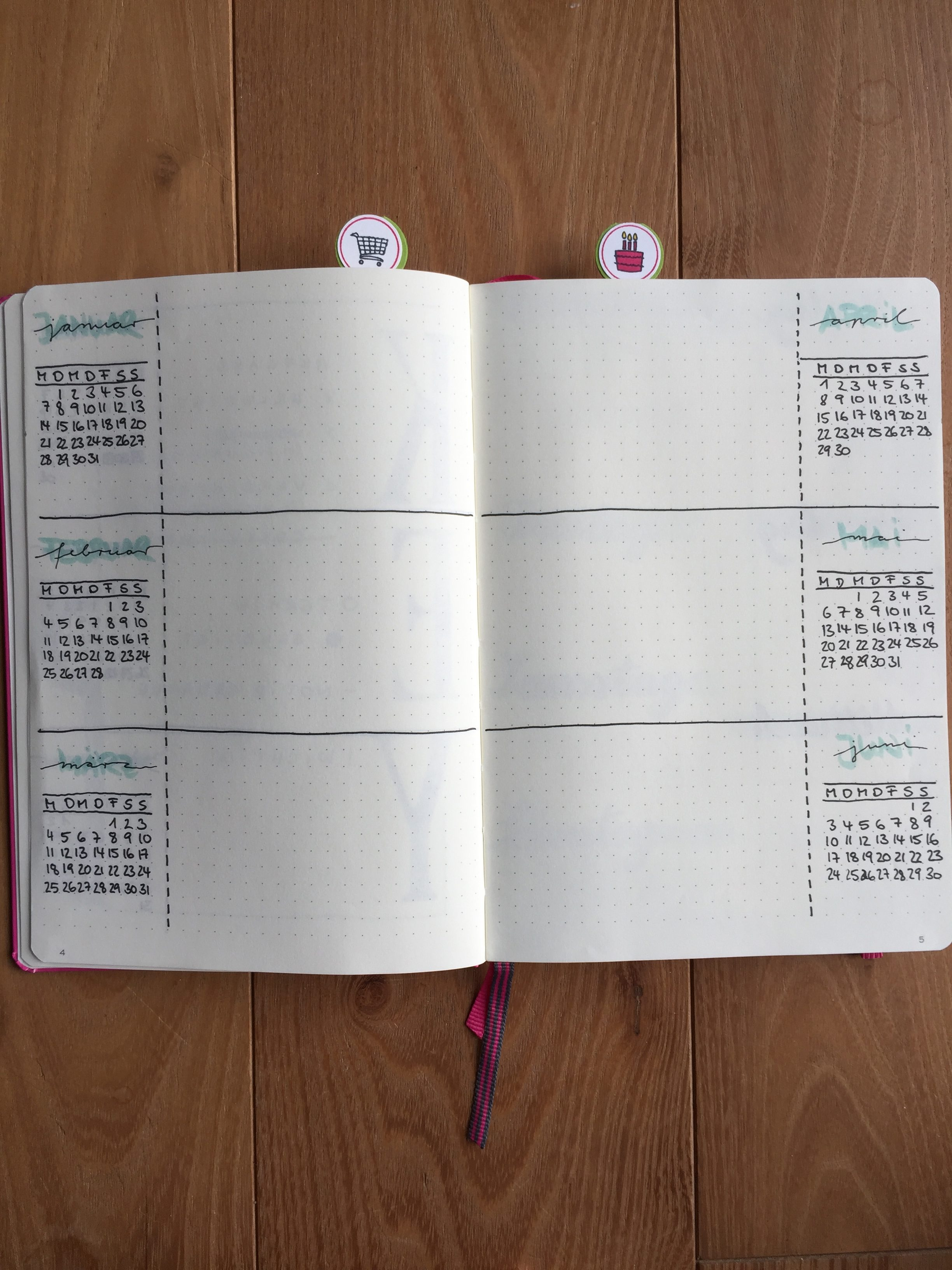 Future Log Bujo Bullet Journal Stampin Up
